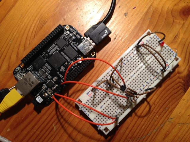 Beaglebone black temperature sensor